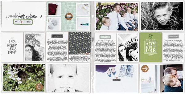 Week Forty-Seven by Candace Perkins - Fall 2017 Issue of Scrapbook & Cards Today