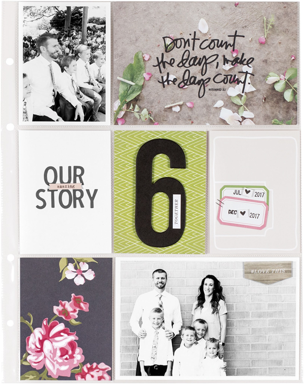 Our Amazing Story by Candace Perkins - Fall 2017 Issue of Scrapbook & Cards Today