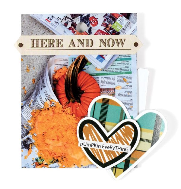Fall Fave Mini by Nicole Martel for Scrapbook & Cards Today magazine