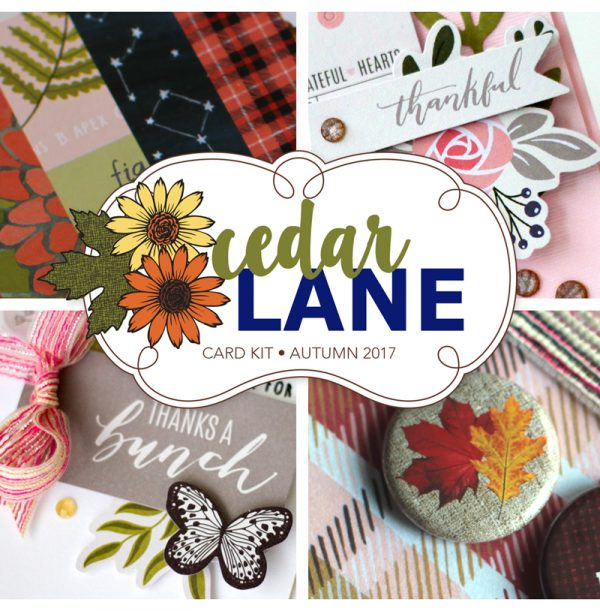 Cedar Lane Card Kit