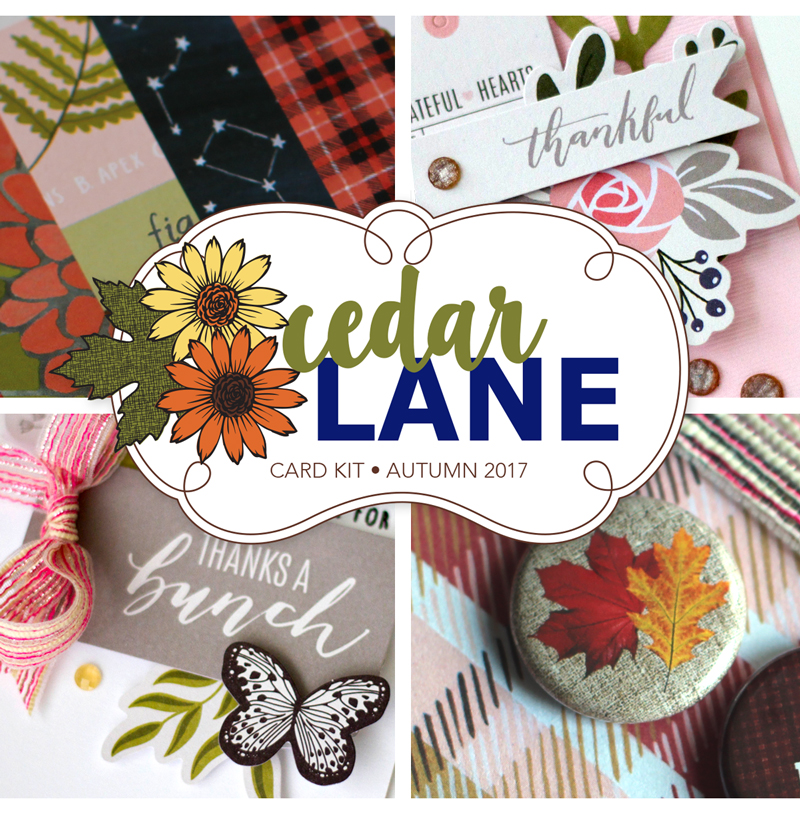 Cedar Lane Card Kit