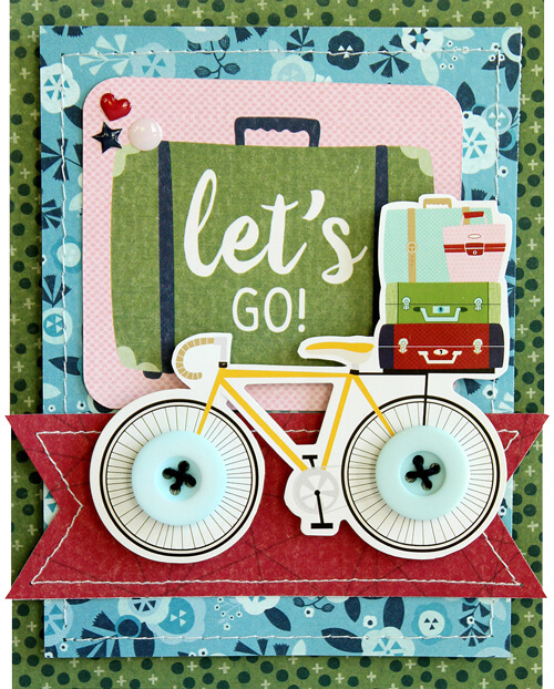 SCT365 January Let's GO! card by Lisa Dickinson