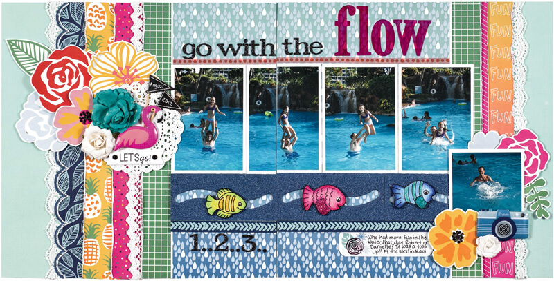 Go with the flow by Stacy Cohen
