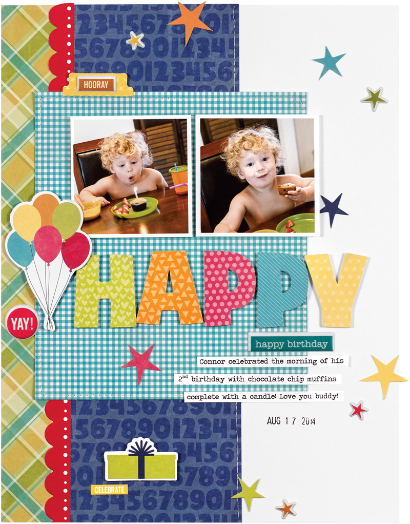 Happy Happy Birthday by Jennifer Chapin