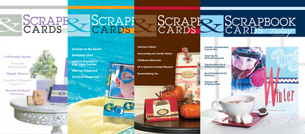 Scrapbook & Cards Today 2006 Issues