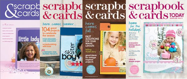 Scrapbook & Cards Today 2008 Issues