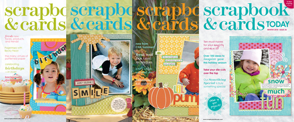Scrapbook & Cards Today 2010 Issues