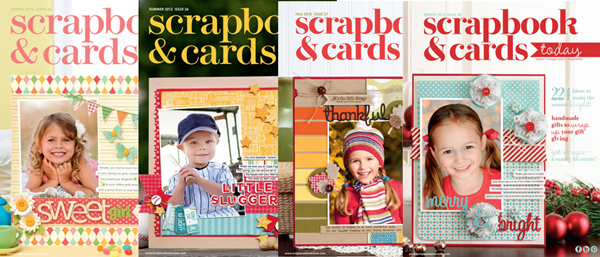 Scrapbook & Cards Today 2012 Issues