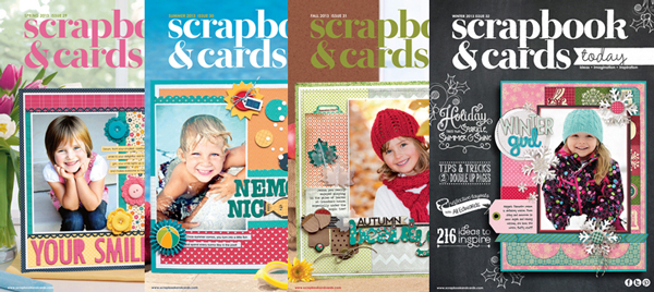 Scrapbook & Cards Today 2013 Issues