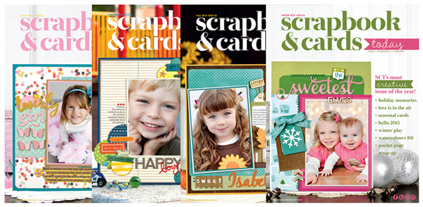 Scrapbook & Cards Today 2014 Issues