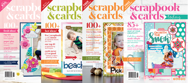 Scrapbook & Cards Today 2016 Issues