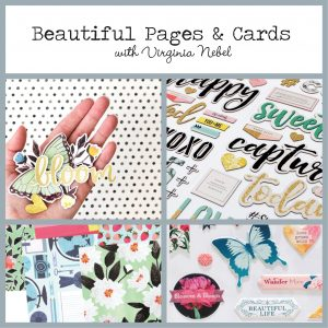 Beautiful Pages and Cards workshop with Virginia Nebel