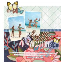 Hello Vacation by Lisa Dickinson