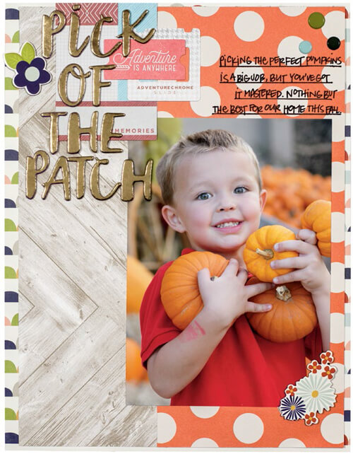 Pick of the Patch by Jennie McGarvey