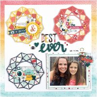 Best Ever by Nicole Nowosad for Scrapbook & Cards Today magazine