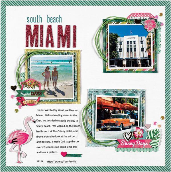 South Beach Miami by Ashley Smith