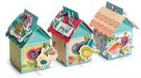 Cheery Birdhouse Treat Trio by Jana Eubank