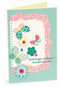 earth laughs in flowers by Roxanne Jegodtka