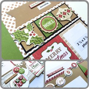 A Christmas to Remember Layout Class with Virginia Nebel