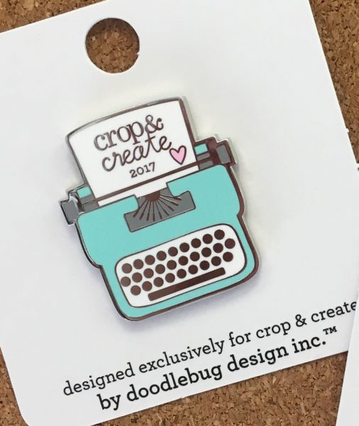 Crop & Create Collector Pin