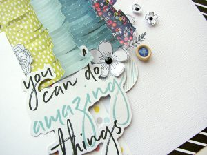 Designer Details by Nicole Nowosad for Scrapbook & Cards Today magazine