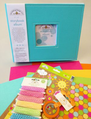 Spring Storytime Album with Doodlebug Design
