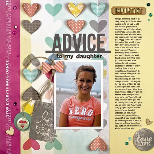 Advice To My Daughter by Summer Fullerton