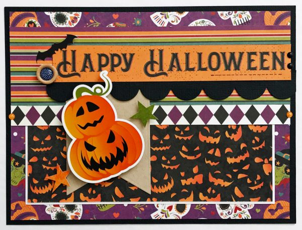 SCT365 October - Happy Hallloween card by Sheri Reguly