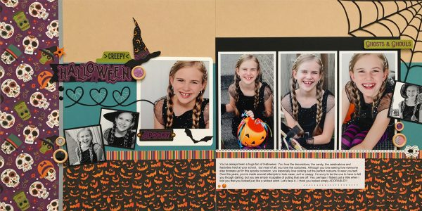 SCT365 October - Layout by Sheri Reguly