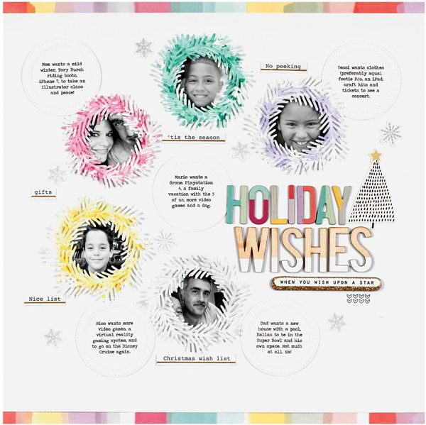 Holiday Wishes by Nancy Damiano
