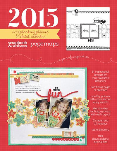 2015 Scrapbooking Planner and Sketch Calendar