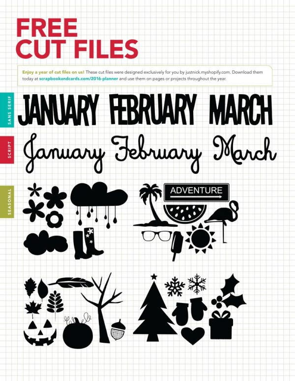 2016 Creative Planner Bonus Files
