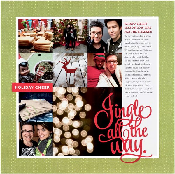 Holiday Cheer by Cathy Zielske