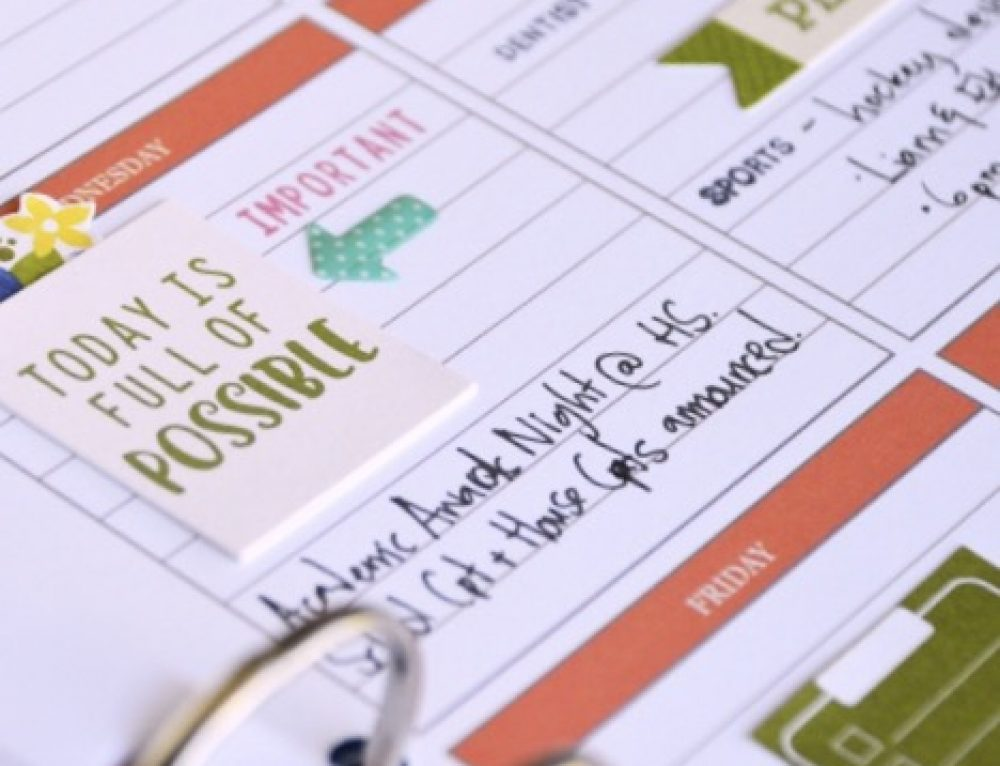 Planner essentials with Jillibean Soup!