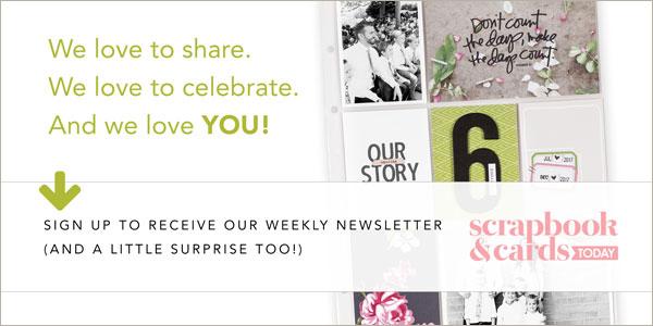 Scrapbook Cards Today Internationally Read Papercrafting Magazine