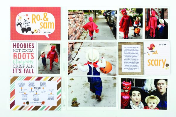 SCT Delivered Fall 2017 Life in Pockets Spread by Jess Forster