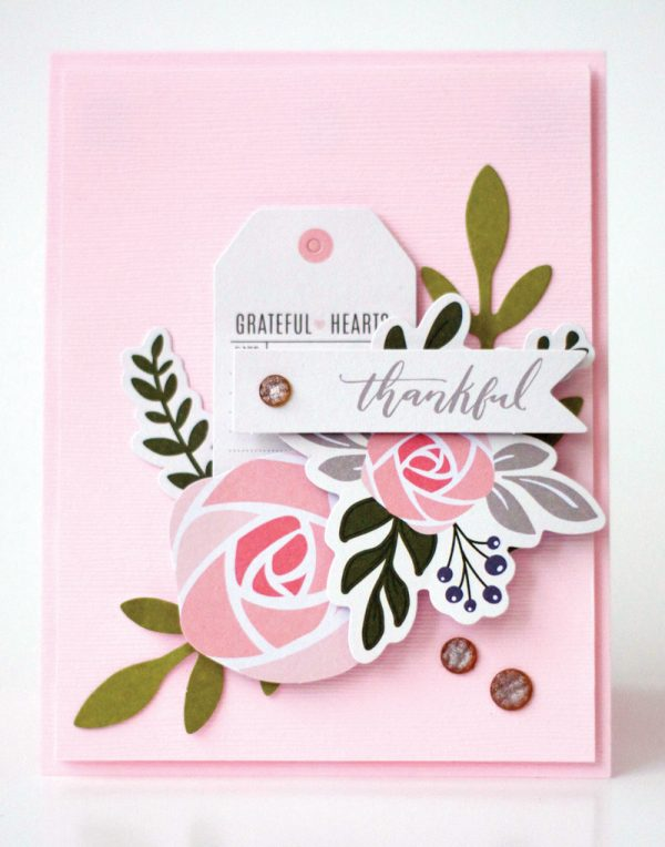 Thankful card by Latisha Yoast