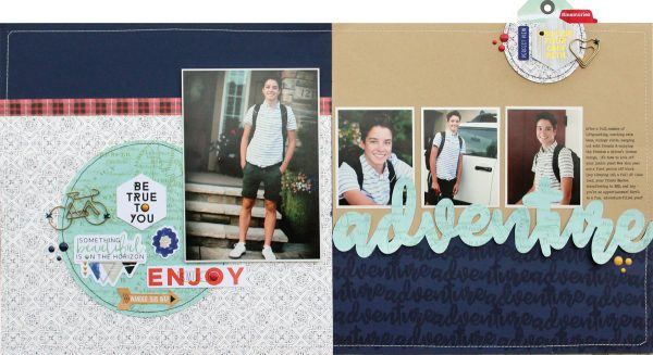 Layout by Lisa Dickinson