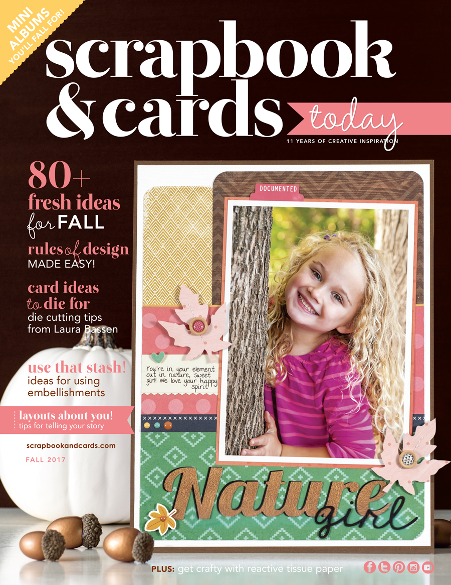 Scrapbook & Cards Today magazine