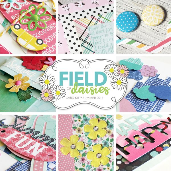 SCT Delivered Field of Daisies Card Kit Sneak Peek
