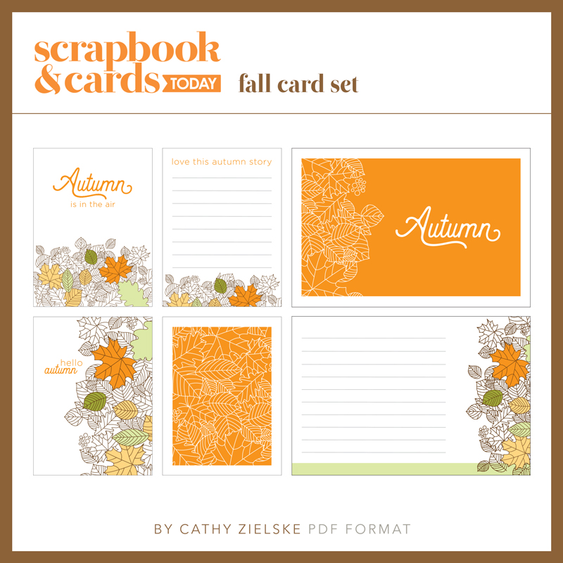 Fall 2017 Journaling Card Set - SCT Magazine