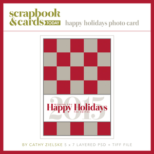 SCT Winter 2015 Happy Holidays Photo Card