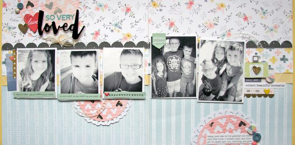 So Very Loved by Nicole Nowosad for Scrapbook & Cards Today magazine