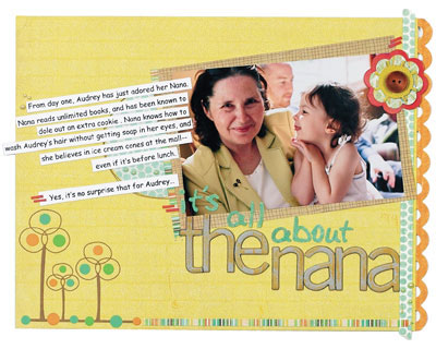 it's all about the nana by Lisa Kisch