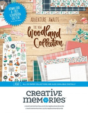 Creative Memories Ad - Scrapbook & Cards Today magazine