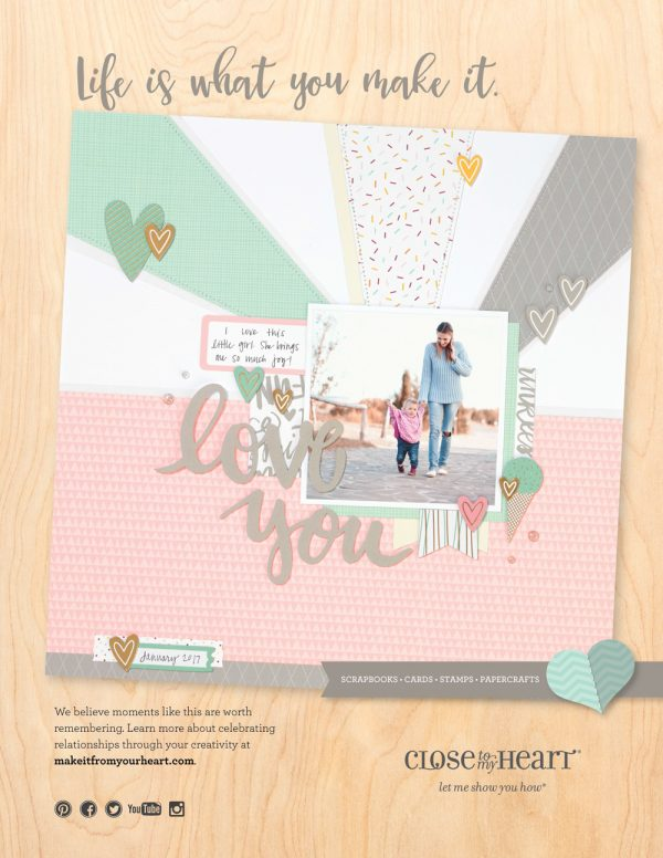 Close To My Heart Ad - Scrapbook & Cards Today magazine