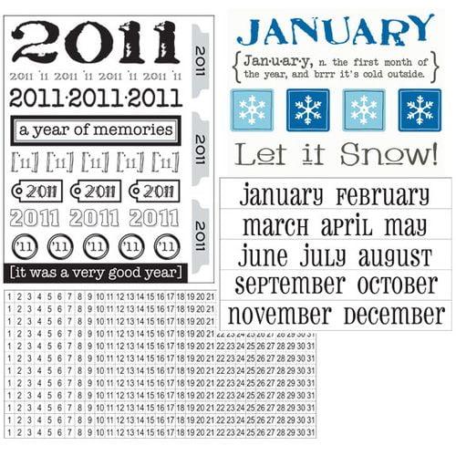 A Cute and Easy Calendar