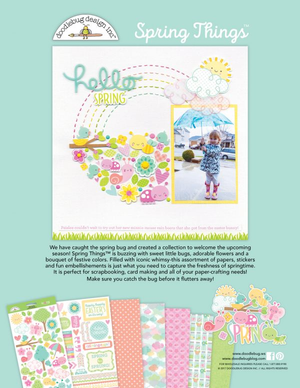 Doodlebug Design Ad - Scrapbook & Cards Today magazine
