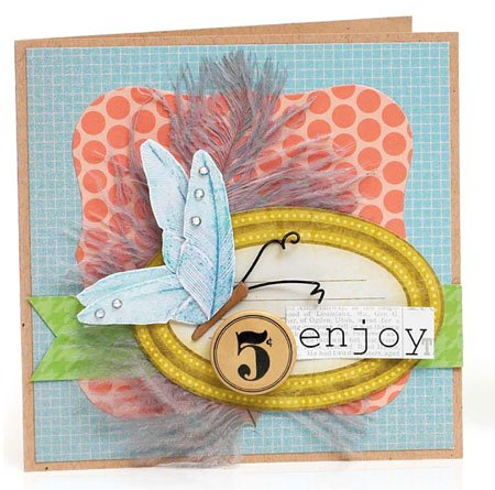 Enjoy Card by Vicki Boutin