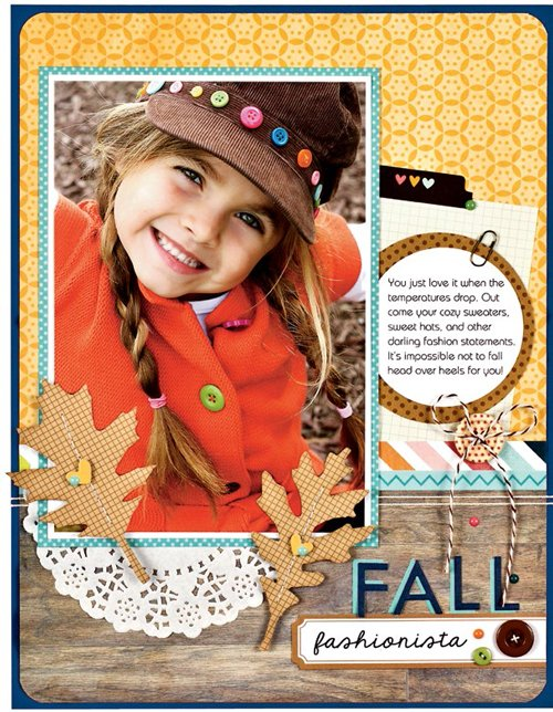 Fall Fashionista by Sheri Reguly